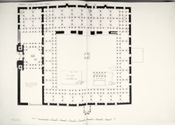 Cambay: Plan of the Jama mosque